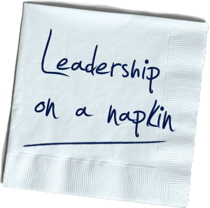 Leadership on a naplin