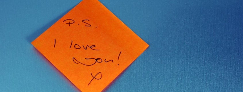Are you expressing love and appreciation to the people that matter most to you?