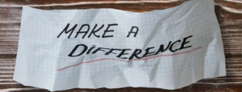 It's Easier Than Ever to Make a Difference
