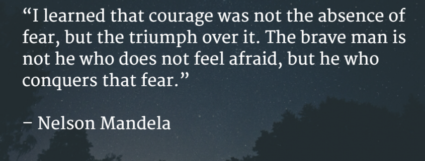 Courage is magical